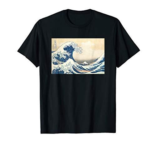 Die Große Welle vor Kanagawa von Katsushika Hokusai T-Shirt