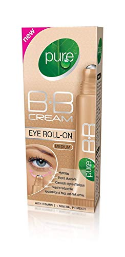 Pure BB Cream Eye Roll-On, BB-Creme mit Creme-Roller, Medium, parfümfrei