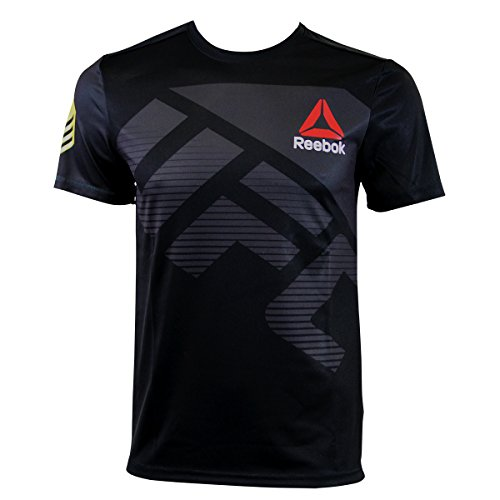 Reebok UFC FK RR Jersey - AZ9010 - Camisetas/Top Negro DE Combate - M