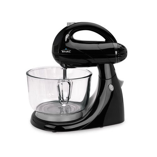 Rival 12 speed Stand Mixer, Black