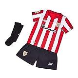 New Balance Athletic Club Kit Infantil 1º Réplica ACB, Niños, Rojo, 18-2