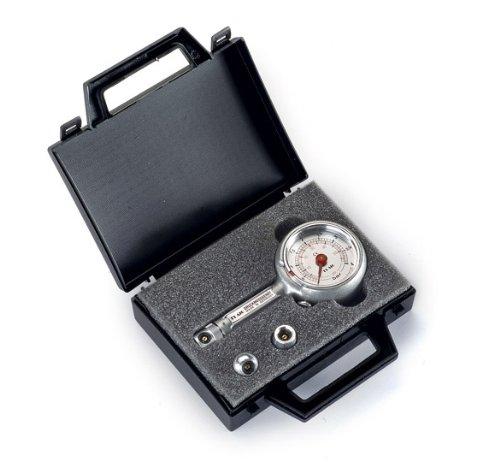 Reifendruckprüfer Reifendruckmesser mit Ablassventil 0-4 bar im Koffer Set