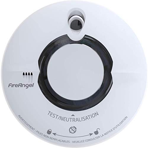 FireAngel ST-630-FRT Rauchmelder, Thermoptek, 10 Jahre, mit Option zur kabellosen Verbindung