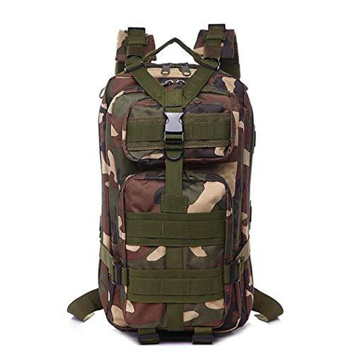 25L 3P mochila táctica militar ejército al aire libre camping hombres Militar mochila Ciclismo senderismo deportes escalada bolsa, Hombre, 7, as picture