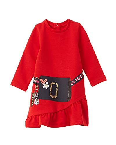Little Marc Jacobs Kleid Comics rot, A-Linie, Rot 68