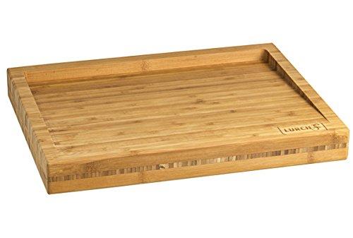 LURCH 10913 Planche à découper en bambou 40 x 30 x 4,5 cm
