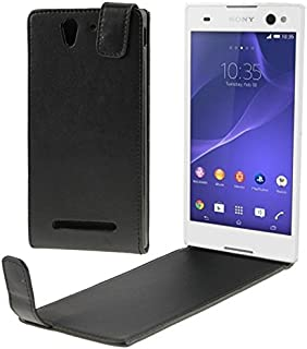 Fashion Cases & Covers Vertical Flip Leather Case for Sony Xperia C3