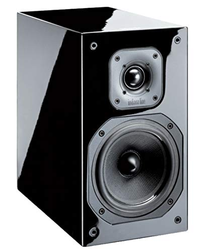 INDIANA LINE DIVA 252 Coppia diffusori acustici a 2 vie Potenza 100 Watt Colore Laccato Nero