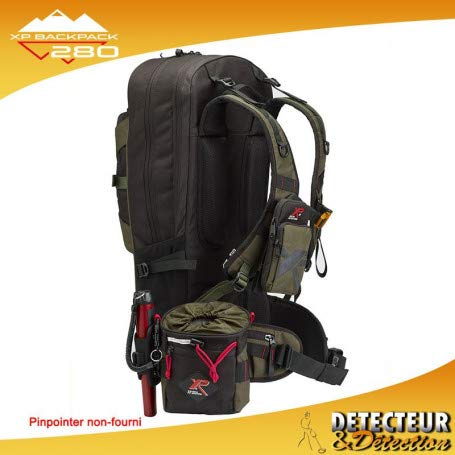 XP Metal Pack Sac à Dos XP Backpack 280 et Sacoche XP Finds Pouch