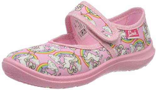 Beck Mädchen Rainbow Niedrige Hausschuhe, Pink (Rainbow rosa 691), 29 EU