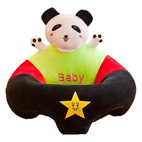 JUGUETE Bebé sentado bebé sentado silla infantil soporte suave asiento sofá niño pequeño aprendiendo a sentarse silla cojín dibujos animados animal con forma de asiento silla de comedor silla de comed