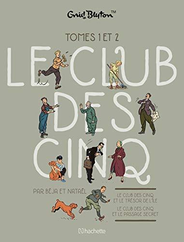 Le Club des Cinq (BD) : Coffret en deux volumes : Tome 1, Le club des cinq et le trésor de l'île ; Tome 2, Le Club des Cinq et le passage secret