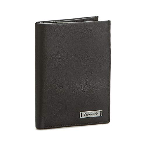 CALVIN KLEIN Vertical Wallet ESSENTIAL ANDR3W NS 8CC Black