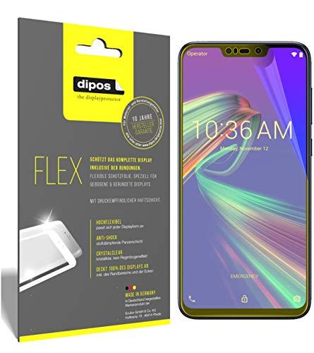 dipos I 3X Schutzfolie 100prozent kompatibel mit Asus ZenFone Max (M2) Folie (Vollständige Bildschirmabdeckung) Bildschirmschutzfolie