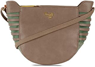 Baggit Women's Synthetic Sling Bag (Beige) (Lp Hideout)