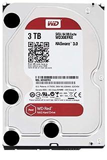 "WD Red WD30EFRX  Disco duro 3.5"" para dispositivos NAS  5400 RPM Class 3TB, SATA 6 Gb/s, CMR, 64MB Cache, Rojo (B008JJLW4M) | Amazon price tracker / tracking, Amazon price history charts, Amazon price watches, Amazon price drop alerts"