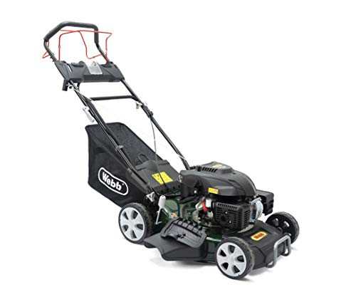 Webb Classic WER460ES Self Propelled 4 Wheel Rotary Lawnmower with...