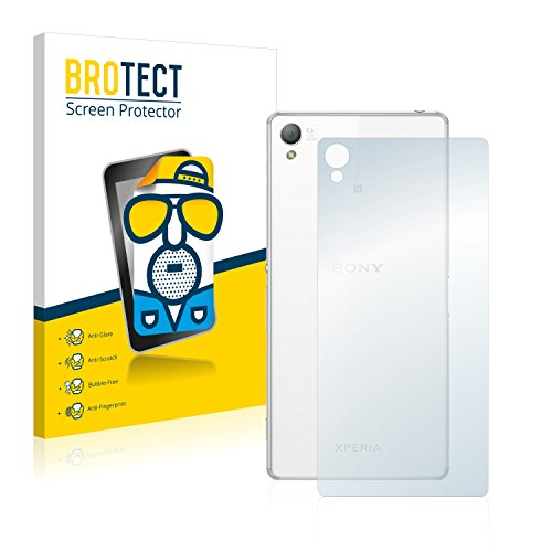 BROTECT 2X Entspiegelungs-Schutzfolie kompatibel mit Sony Xperia Z3 D6603 (Rückseite) Displayschutz-Folie Matt, Anti-Reflex, Anti-Fingerprint