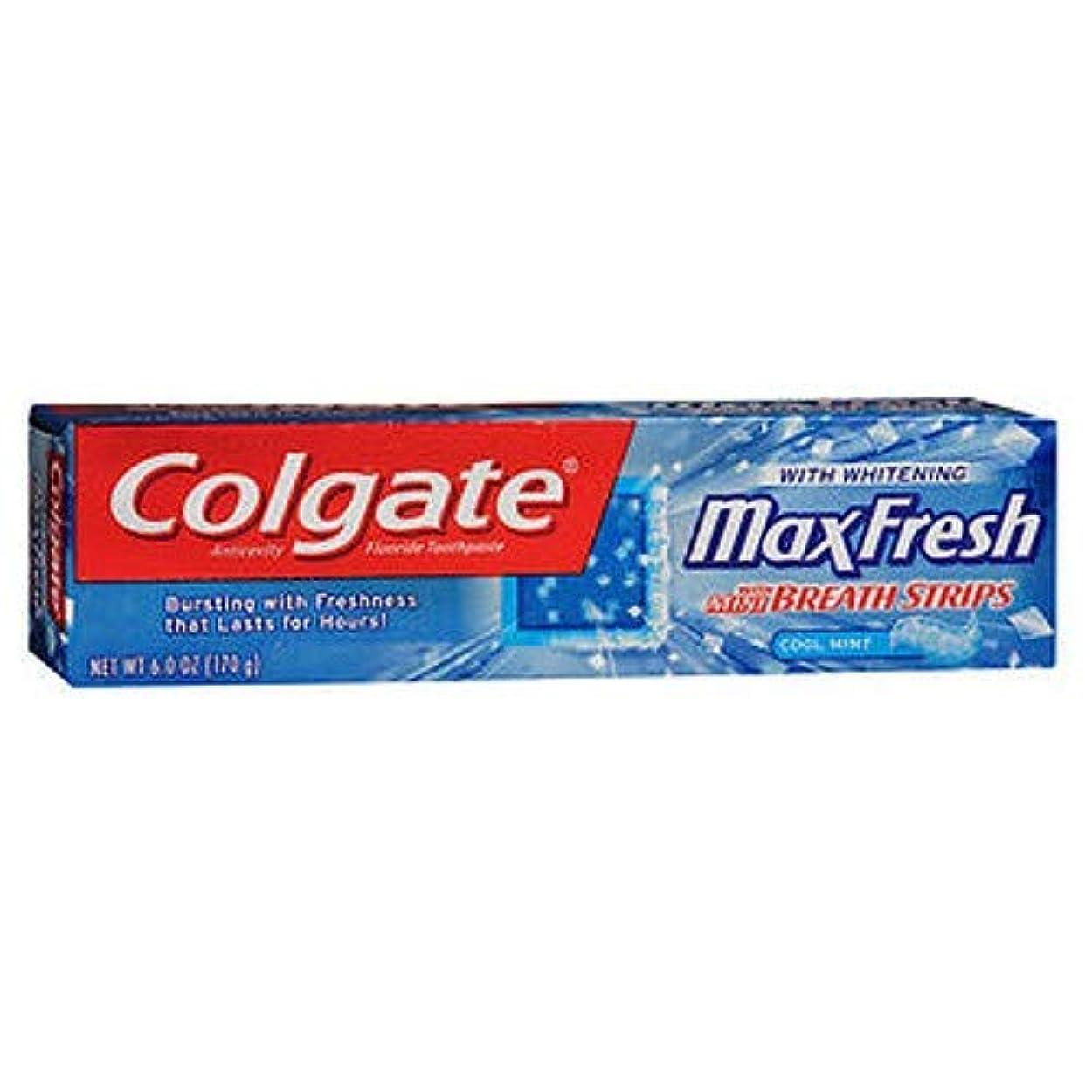 閃光定説実質的にColgate マックス新鮮なハミガキミニブレスストリップ,ミント&#44クール。 6オズ。