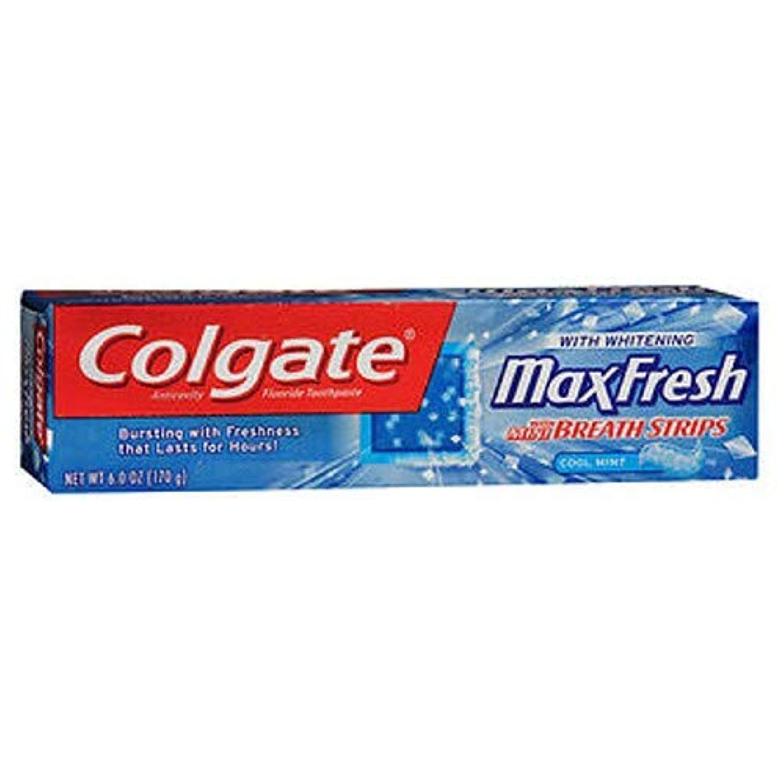 一般化する資産拡大するColgate マックス新鮮なハミガキミニブレスストリップ,ミント&#44クール。 6オズ。