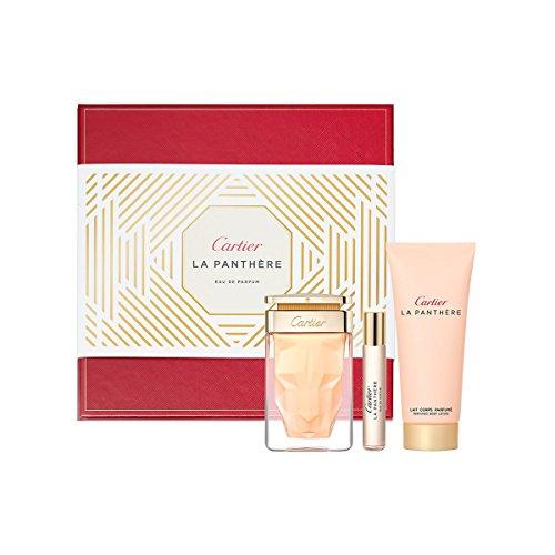 Cartier Set La Panthère perfume 75 ml + Perfume 90 ml + Loción corporal 100 ml 265 ml
