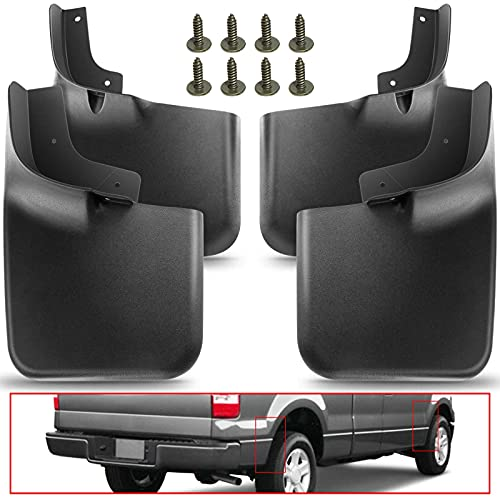 A-Premium Splash Guards Mud Flaps Mudflaps Replacement for Ford F-150 F150...