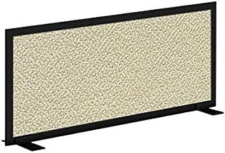Obex 24X36A-B-CR-FS Acoustical Free Standing Privacy Screen, 60cm x 90cm, Crema