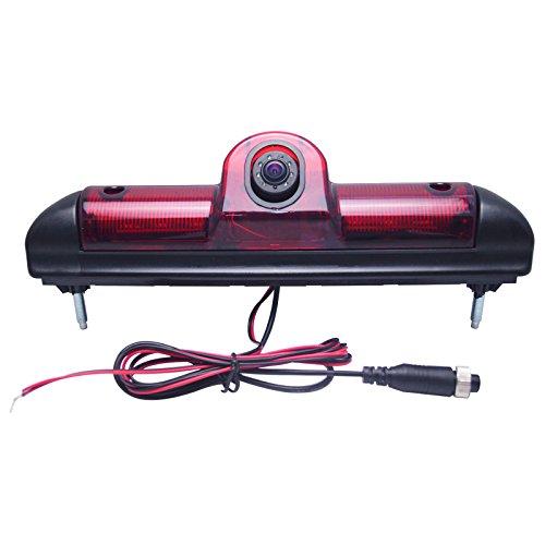 Feeldo New Car LED de frein lumière IR vue arrière Recul/caméra de recul