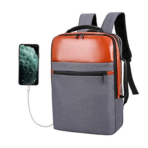 Xnuoyo Antivol Sac à Dos Ordinateur Portable 15,6 Pouces Imperméable avec USB Charging Port...