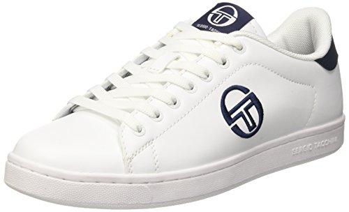 Sergio Tacchini Gran Torino, Sneaker a Collo Basso Uomo, Bianco (White/Deep), 40 EU