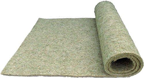 Tappeto in 100% canapa, 120x 50cm, spessore 10mm, roditori gabbia roditori Matte adatta come base sintetici ad es. per conigli, porcellini d' India, criceti, Degus, ratti e altri roditori.