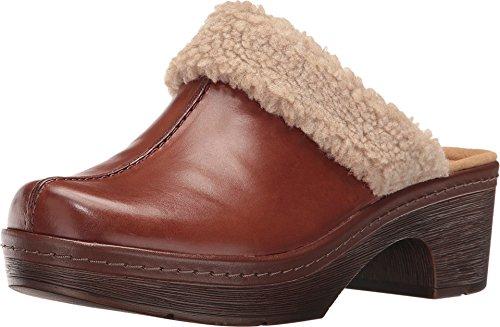 Clarks Femmes Chaussures De Mule Couleur Marron Dark Tan Taille 37 EU / 6 Us