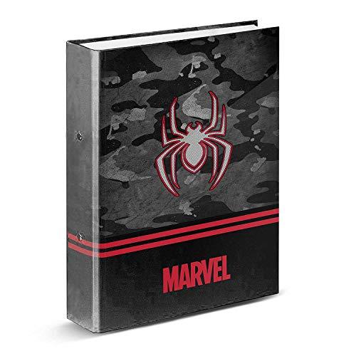 Spiderman Dark-Carpeta Anillas