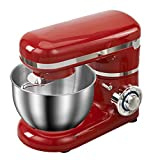 LT 1200W 4L Ciotola in Acciaio Inox Mixer, Cucina Frullatori Mixer Crema Frusta Le Uova Pasta della Torta di caffè processore Pane Mixer Food Machine