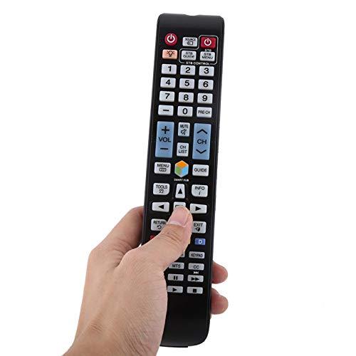 DAUERHAFT Control Remoto de TV Sin programación Control Remoto de Smart TV Distancia de transmisión Mayor Teclado LCD LED Universal, para Smart TV, para Samsung, para BN59-01179A