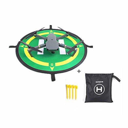 Hensych 50cm Grüner Landungsauflage Landing pad für DJI Mavic Mini / Pro / DJI Spark /DJI Phantom 3 / DJI Phantom 4 / PRO / PRO +