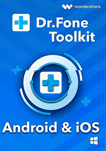 Dr.Fone iOS & Android Toolkit Alle Module - 1 Jahr Lizenz (Product Keycard ohne Datenträger)