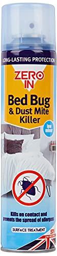 Zero In, Spray insetticida per cimici da Letto (Confezione Spray da 300ml, Trattamento Domestico a Lungo Termine per materassi, Letti e mobili, Dura per più di 12Mesi)