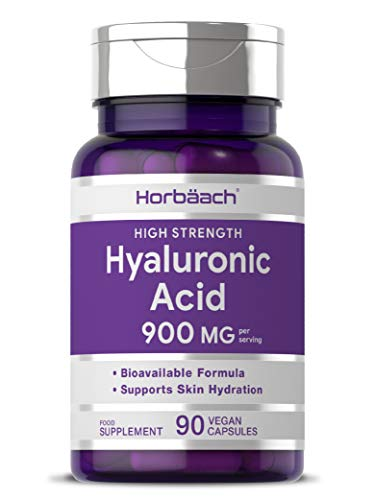 Hyaluronic Acid 900mg | 90 Capsules | Triple Strength Tablets | Natural...