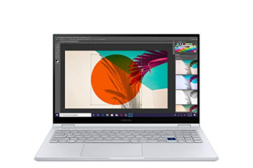 SamsungGalaxy Book Flex 39,62 cm (15,6 Zoll) Notebook (Intel Core i5-1065G7, 8 GB RAM, 256 GB SSD, S Pen, Windows 10 Home) royal silver