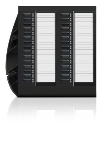 ELMEG T500 schwarz Tastenerweiterung f. S530/S560 2x15 frei programm. Tasten mit 2-farbigen LEDs nutzbar ab S530/560 SW Version 1.5x