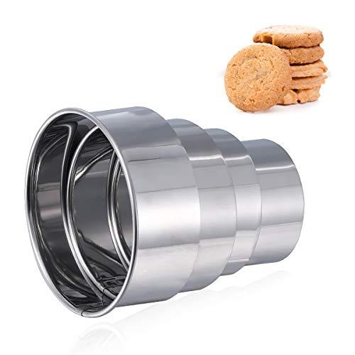 Moldes para galletas redondas