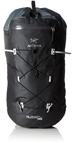 Arcteryx Erwachsene Rucksack Alpha FL Backpack, Black, 150 cm