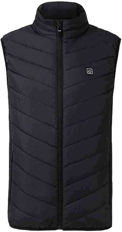 Cold Weather Vest for Men, Simayixx Lightweight Padded Down Waistcoat Jacket Plus Size Winter Warm Gilet S-4XL