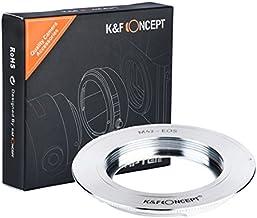 [正規代理店]K&F M42レンズ-CANON EOS EFマウントアダプター レンズクロス付 m42-ef (KFEF)