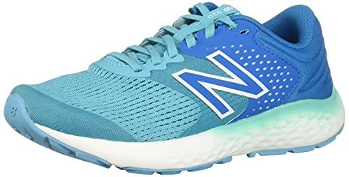 New Balance Women's 520v7 Running Shoes, Blue, 8 US Wide