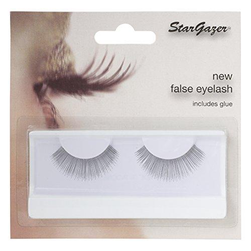 Stargazer Feather Eye Cils Style 75, paire de cils synthétique avec colle.