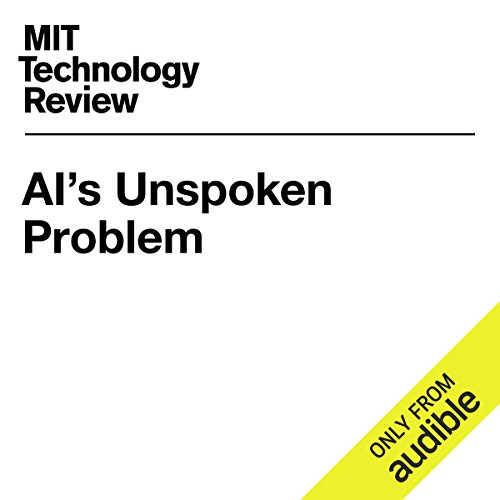 AI's Unspoken Problem audiobook cover art
