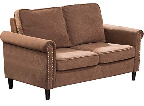 Modern Sofa Fabric Couch and Sofas Contemporary Loveseat Sofa for Home Living Room Furniture