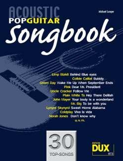 ACOUSTIC POP GUITAR SONGBOOK 1 - STRUMMING & PICKING - arrangiert für Gitarre - mit CD [Noten / Sheetmusic] Komponist: LANGER MICHAEL
